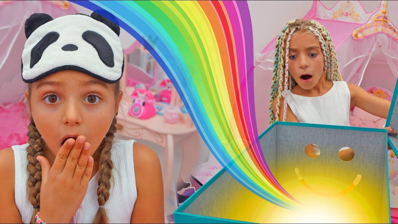 Las Ratitas Gisele y Claudia juegan a telepatia