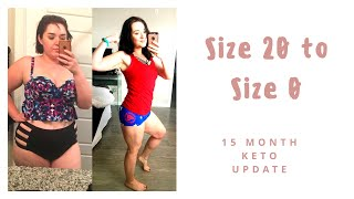 KETO WEIGHT LOSS PROGRESS: 15 MONTHS FROM MORBIDLY OBESE TO A HEALTHY WEIGHT