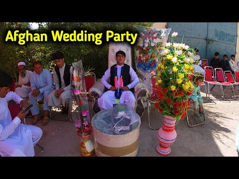 Afghan Wedding Ceremony | Village wedding party at home