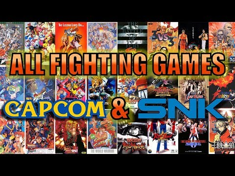All Fighting Games of CAPCOM & SNK (1991-2000) - The Golden Age of Fighting Games