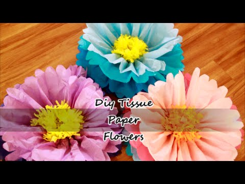 Diy giant tissue paper flowers youtube diy giant tissue paper flowers mightylinksfo