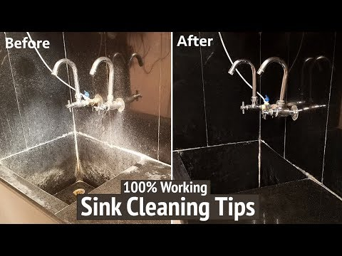 How to Clean Your Kitchen Sink | How to Clean Sink with Baking Soda and Vinegar | Cleaning Tips