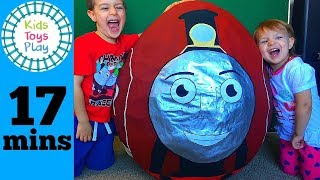 Thomas and Friends GIANT Surprise Egg  | Thomas the Train New Rosie Biggest Surprise Egg