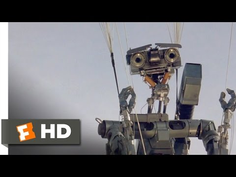 Short Circuit (4/8) Movie CLIP - It