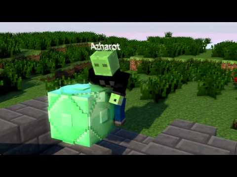 Minecraft Intro – Cinema 4D – 1080p HD