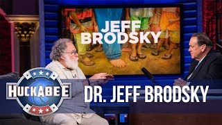 Why Jeff Brodsky Has Been BAREFOOT For Almost NINE Years | Huck's Hero | Huckabee