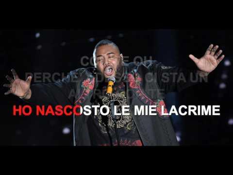 Sergio Sylvestre - Con te - Karaoke con testo