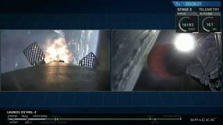 Touchdown! SpaceX Rocket Lands After Launching Satellite for Qatar