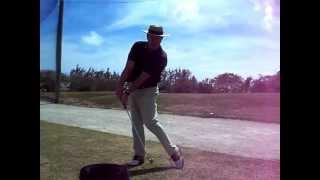 Hit it longer golf swing Tire Drill