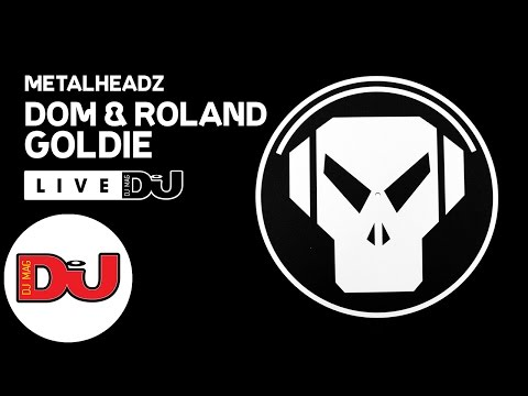 Metalheadz: Dom & Roland and Goldie LIVE from DJ Mag HQ