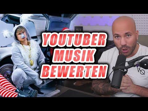"""Julien Bam - SANDMANN DISSTRACK / Ich bewerte """"MUSIK"""" von Youtubern"""