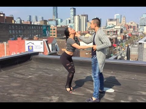Prince Royce ft. Chris Brown - Just As I Am (Bachata Rooftop Dance)
