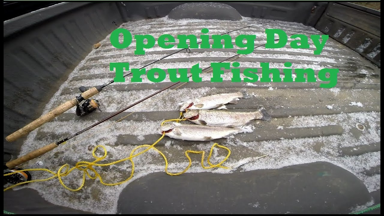 """""""Opening Day Trout Fishing"""" 2015 Maryland"""
