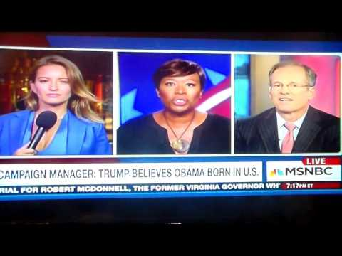 Joy Reid Whips Up On Trump Surrogate Jack Kingston