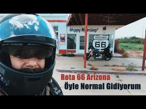 Route 66'da Sürmek - Arizona -Öyle Normal Gidiyorum