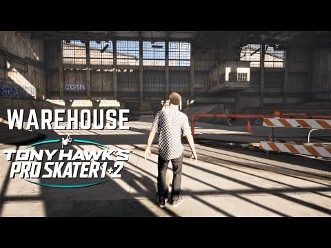 TONY HAWK'S PRO SKATER 1 + 2: Warehouse - All Goals in 1 Minute!