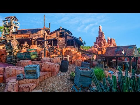 Big Thunder Mountain Area Music - DisneyAvenue.com