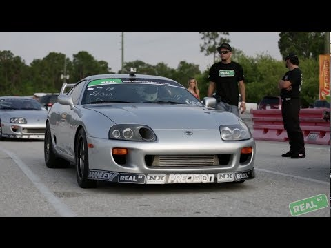 Real Street Performance Supra - Drag Mania 2014