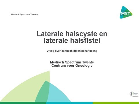 Laterale halscyste en laterale halsfistel - uitleg over de ...