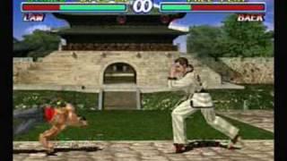 Tekken 2 - Law
