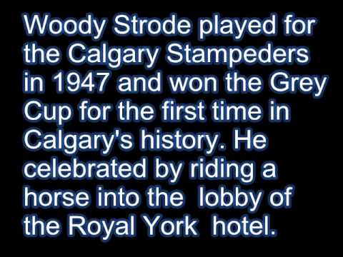 WOODY STRODE   THE FOOTBALL YEARS