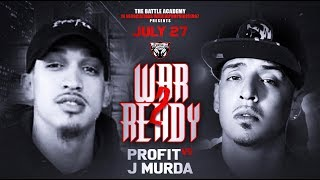 J Murda Vs. Profit - The Battle Academy Presents