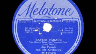 Joe Venuti and his Orchestra - Easter Parade - 1933