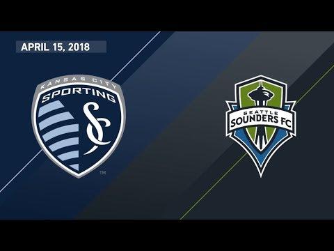 HIGHLIGHTS: Sporting Kansas City vs. Seattle Sounders | April 15, 2018