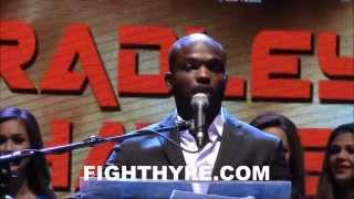 "TIMOTHY BRADLEY PROMISES AN EXCITING FIGHT WITH DIEGO CHAVES: ""I"