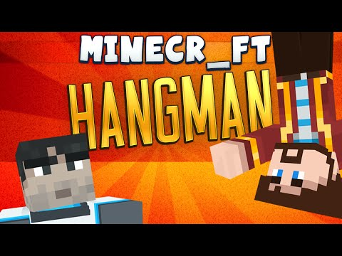Minecraft Minigames - Hangman #2 - Games With Sips