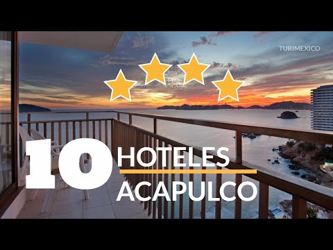 Top 10 Hoteles 4 Estrellas en Acapulco