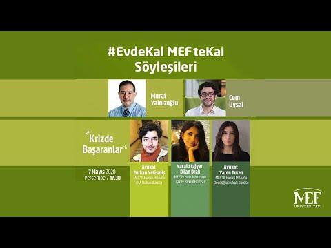 """EvdeKal MEFteKal Söyleşileri - 9 """"Krizde Başaranlar"""""""