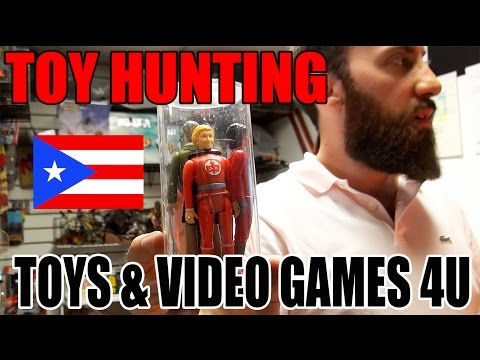 TOYS & VIDEO GAMES 4 U BAYAMON PUERTO RICO VINTAGE TOY STORE MAD HUNTER MOTU AMERICAN HEROE