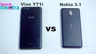 Vivo Y71i vs Nokia 3 2 SpeedTest and Camera Comparison
