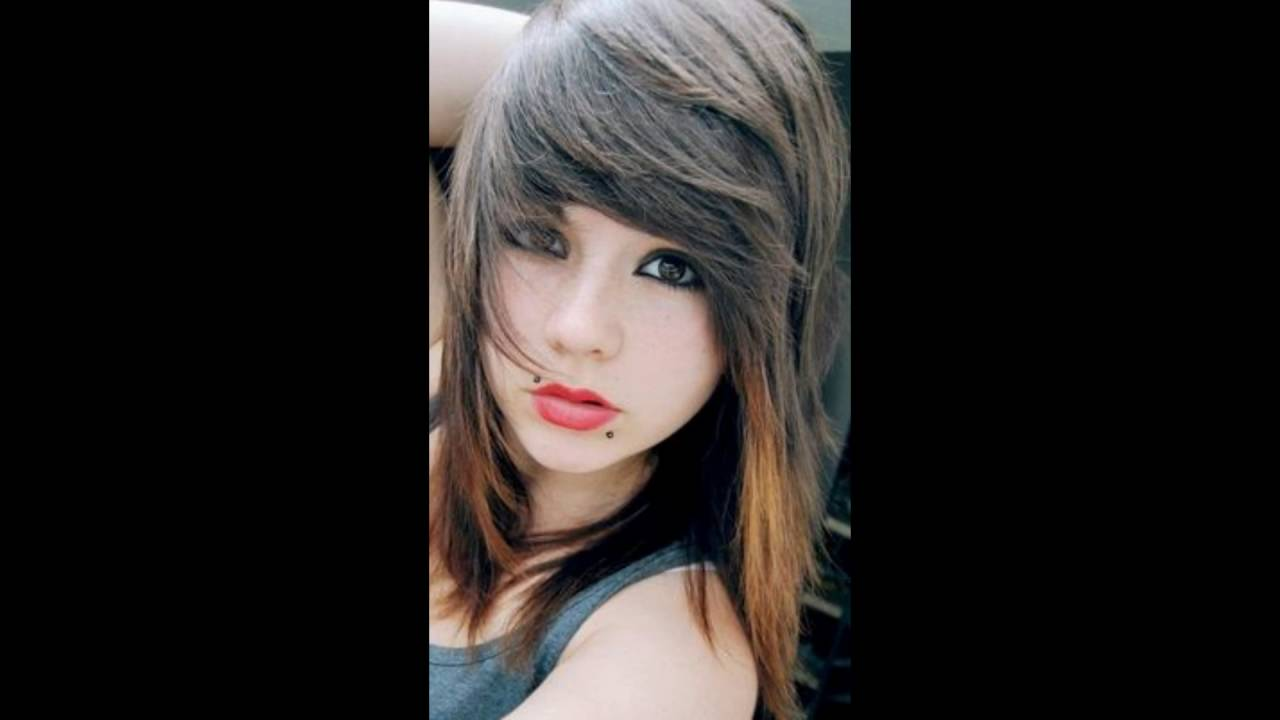 emo hairstyles for girls with medium hair । emo hairstyles for girls