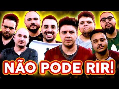 NÃO PODE RIR! com Oscar Filho, Gui Preto, Victor Ahmar e Tiago Carvalho