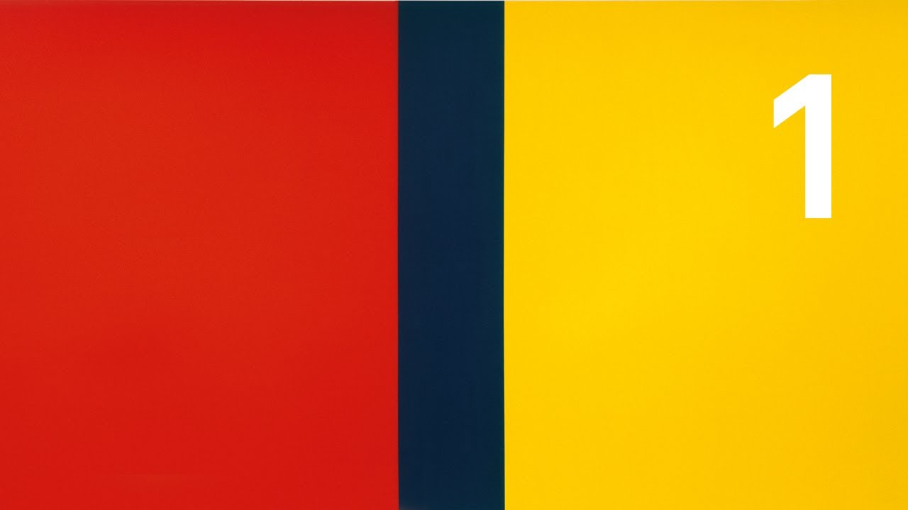 peter raue ber who 39 s afraid of red yellow and blue iv von barnett newman youtube. Black Bedroom Furniture Sets. Home Design Ideas