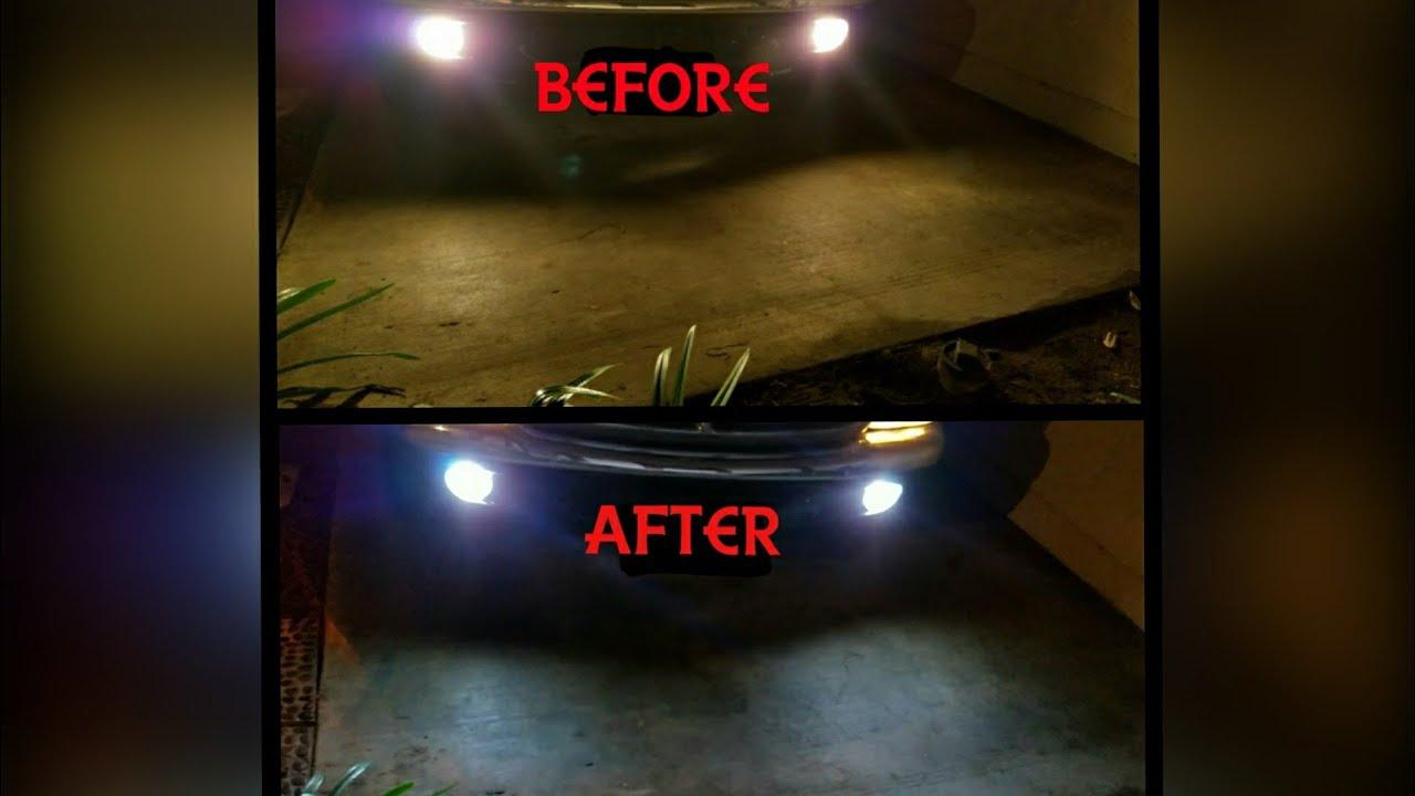 Halogen Light Vs Led >> Led Fog Lights Vs Halogen Fog Lights Youtube