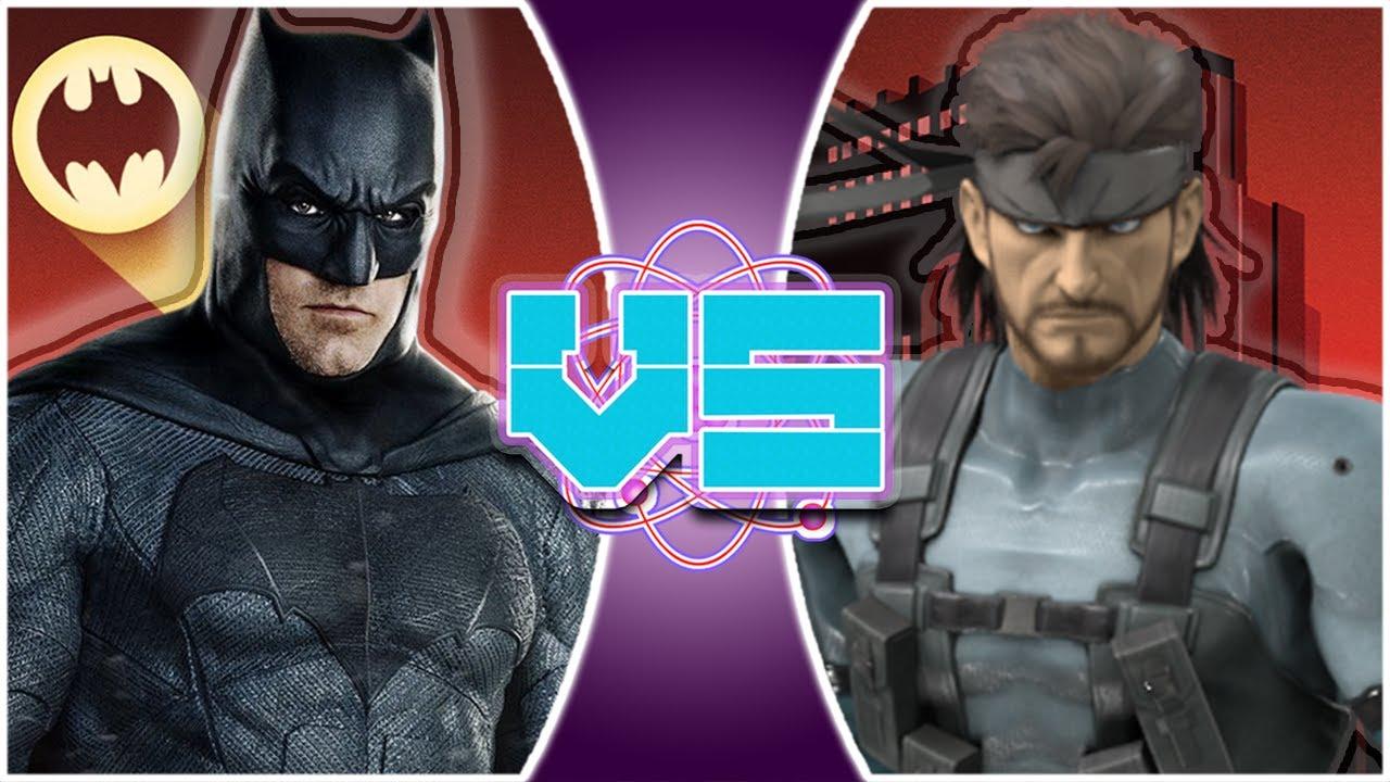 BATMAN vs SOLID SNAKE! (The Batman vs Metal Gear Solid) | REWIND RUMBLE