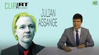 The Fate of Julian Assange: Clipart with Boris Malagurski