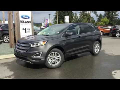 2016 Ford Edge SEL + Power Tilting Sun Roof Review | Island Ford