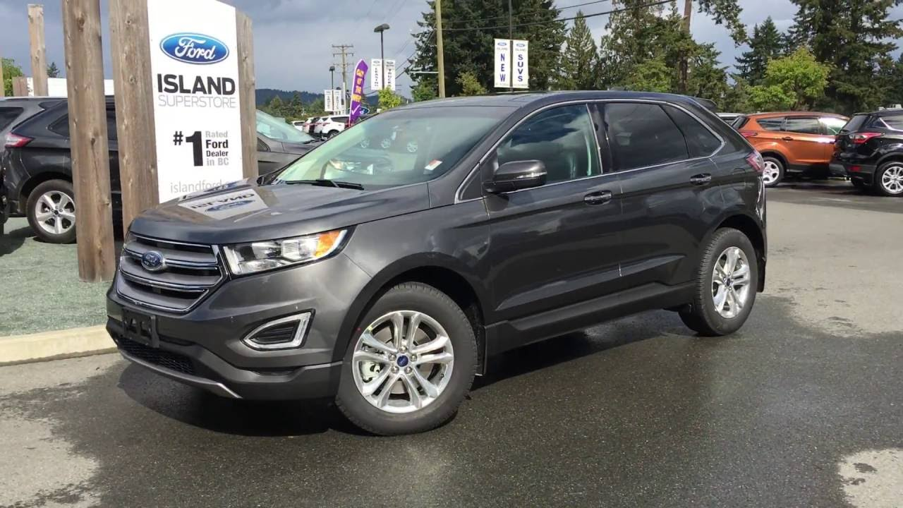 Ford Edge Sel Power Tilting Sun Roof Review Island Ford