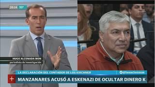 Hugo Alconada Mon: El contador Manzanares confesó cómo salió el dinero de Santa Cruz