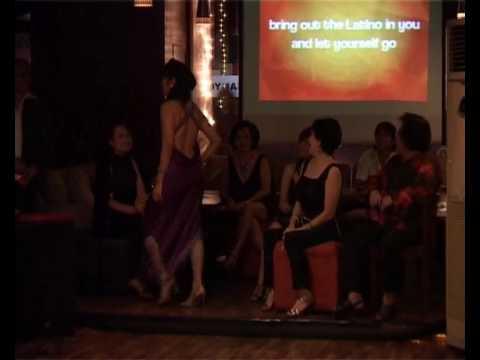 Club Latino Jakarta - Tango Fashion Show