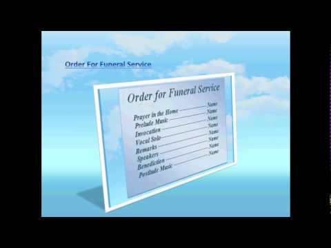 Blue Sky Background Free Funeral Program Template For Word 2007 – Funeral Program Background