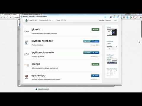 OpenCV3 Tutorials 1: Installing OpenCV 3 on Anaconda - YouTube