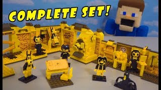 Download Bendy and the Ink Machine GAME MAP PLAYSET! COMPLETE SERIES 1 Mp3 and Videos