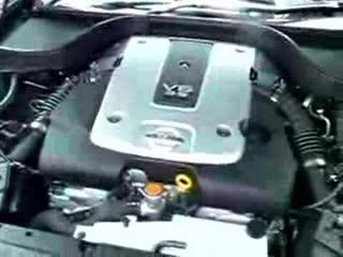 VQ35HR Engine start