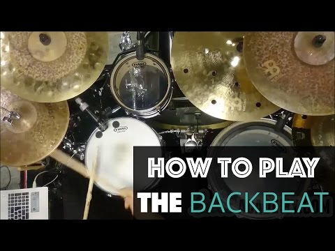 Learn to Play the Backbeat - Beginner Drum Lesson