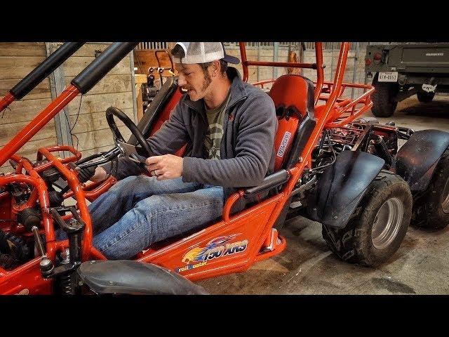 Double Engine Go-Kart, Part 4 Start Up!